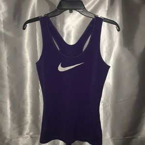 Nike Purple DRI-FIT Women's Workout top SIZE Small